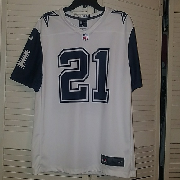 new concept 8930c 42cd2 Ezekiel Elliott Color Rush Jersey